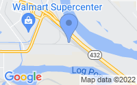 Map of Longview WA