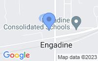 Map of Engadine MI
