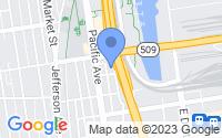 Map of Tacoma WA