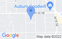 Map of Auburn WA