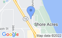 Map of Gig Harbor WA