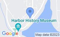 Map of Gig Harbor WA