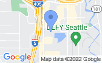 Map of Tukwila WA
