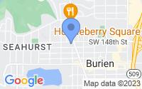 Map of Burien WA