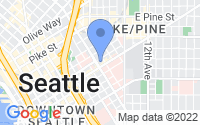 Map of Seattle WA