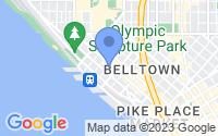 Map of Seattle WA