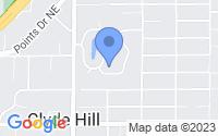 Map of Bellevue WA
