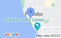 Map of Poulsbo WA