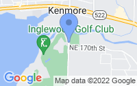 Map of Kenmore WA
