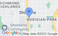 Map of Shoreline WA