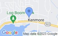 Map of Kenmore WA