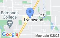 Map of Lynnwood WA