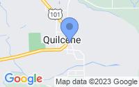 Map of Quilcene WA