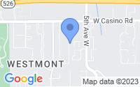 Map of Everett WA