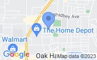 Map of Oak Harbor WA