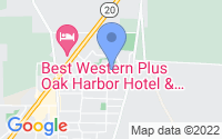 Map of Oak Harbor WA