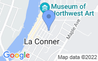 Map of La Conner WA