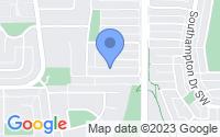Map of Calgary AB