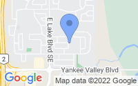 Map of Airdrie AB