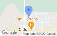 Map of Olds AB