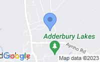 Map of Banbury Oxfordshire