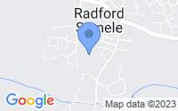 Map of Leamington Spa Warwickshire