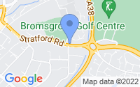 Map of Bromsgrove Worcestershire