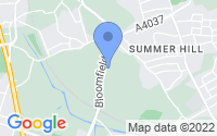 Map of Tipton West Midlands