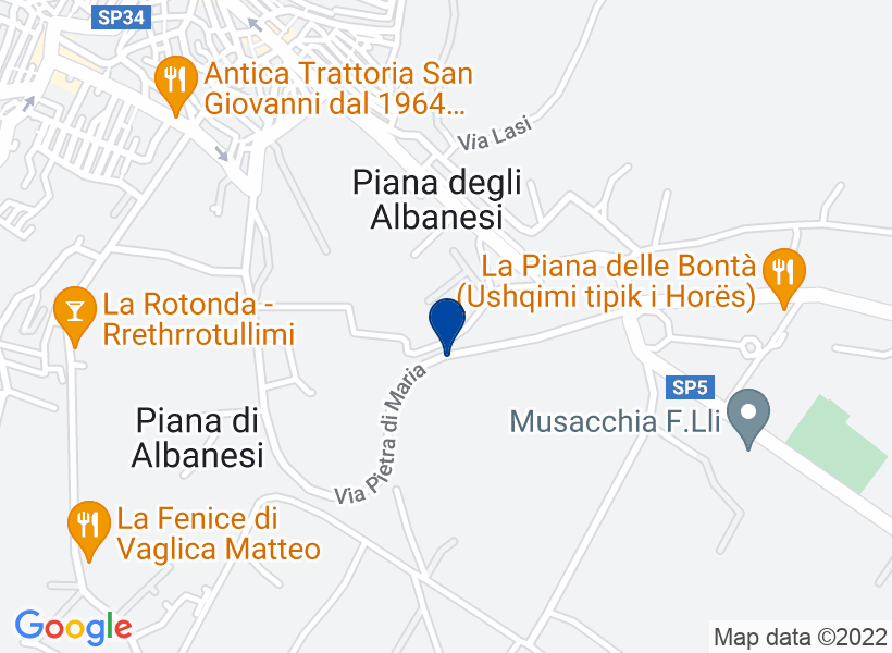 Terreno, PIANA DEGLI ALBANESI