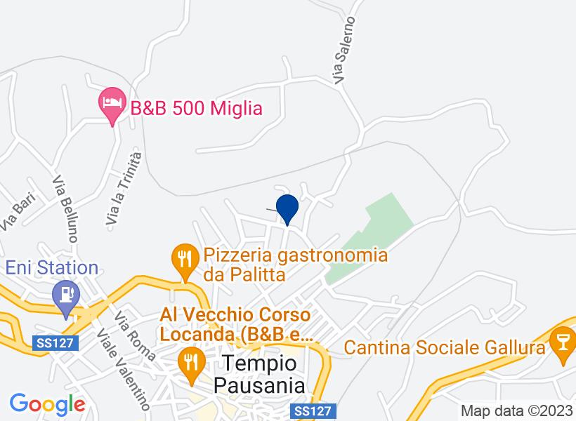 Magazzino, TEMPIO PAUSANIA