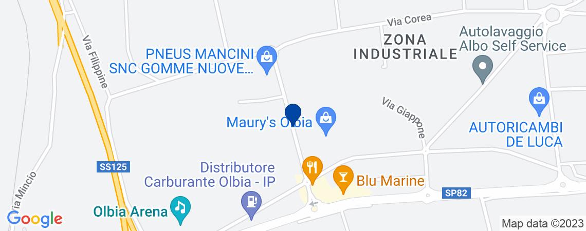 Fabbricato industriale, OLBIA
