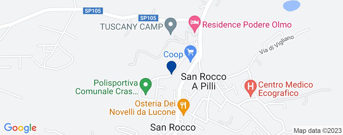 Albergo a SOVICILLE in loc. San Rocco a Pi...