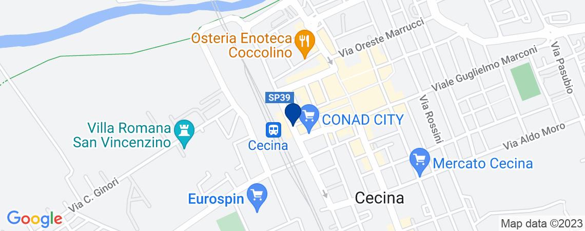 Fabbricato commerciale, CECINA