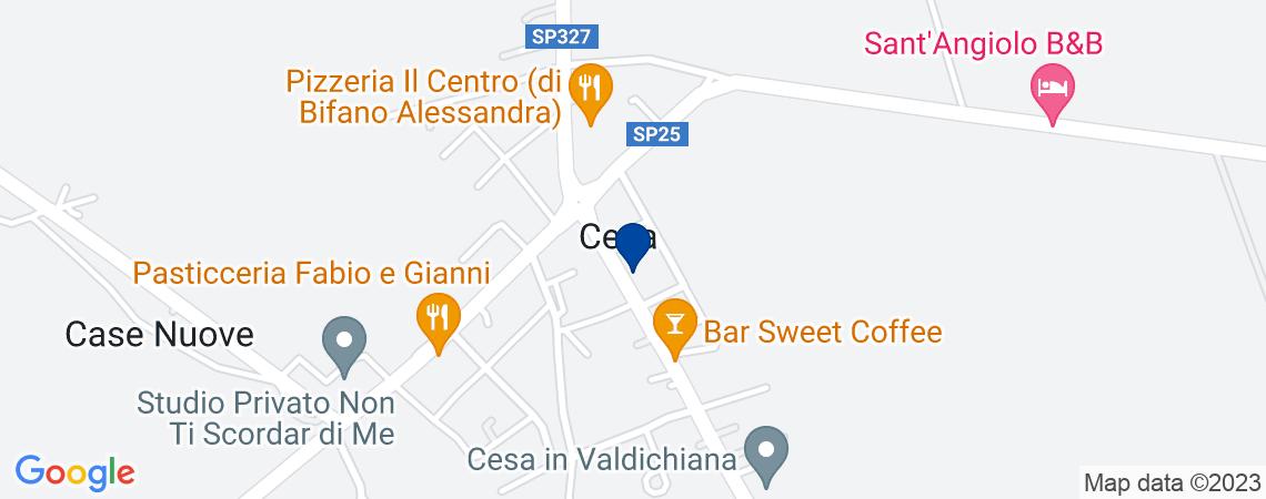 Bar a MARCIANO DELLA CHIANA in loc. Cesa -...