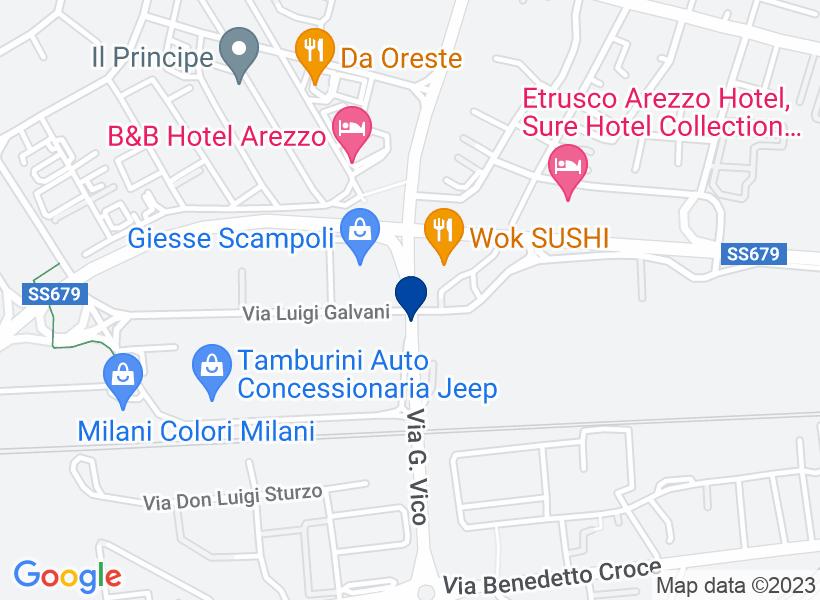 Complesso industriale ad AREZZO, Via Gian ...