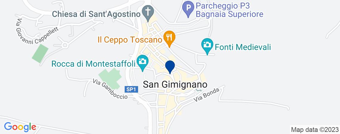Terreni a San Gimignano in loc. Montepetri...
