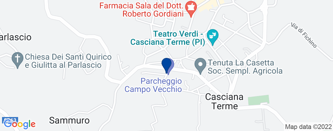 Posto auto, CASCIANA TERME