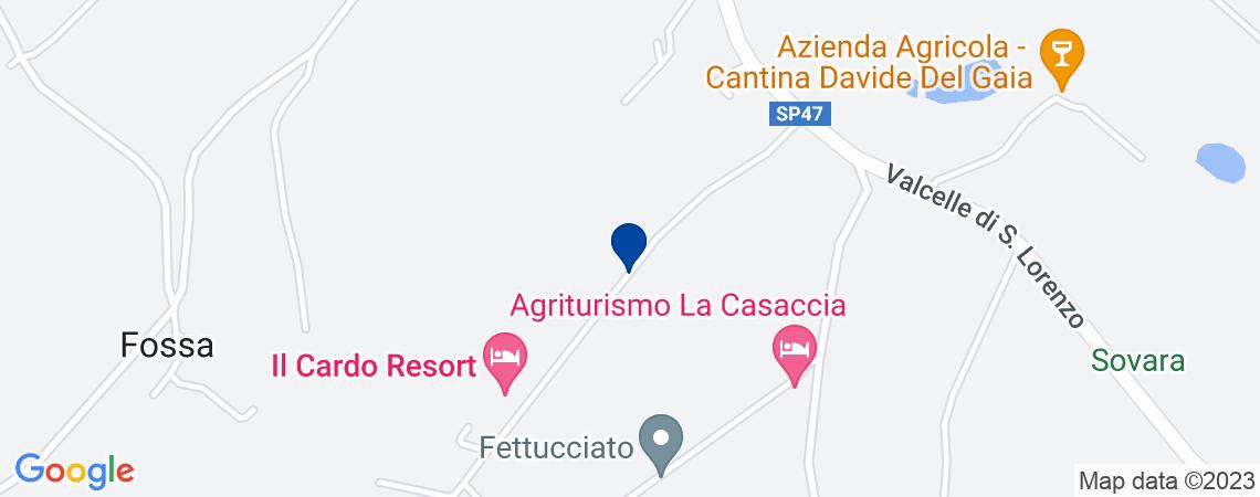Cava e terreni agricoli ad ANGHIARI, loc. ...