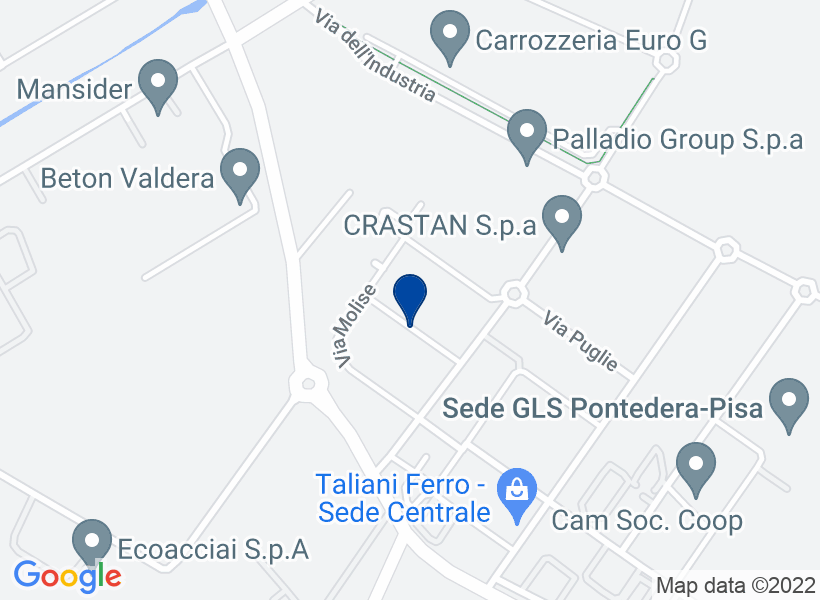Fabbricato industriale, PONTEDERA