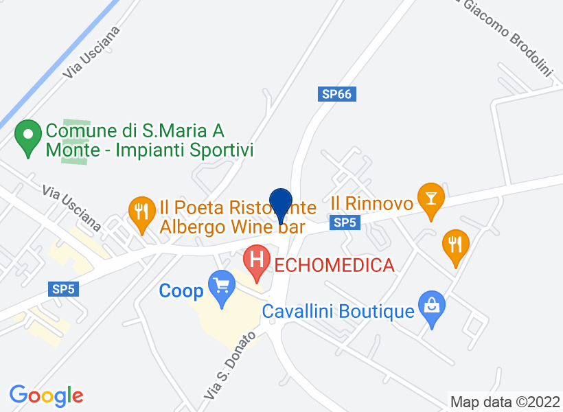 Fabbricato commerciale, SANTA MARIA A MONTE