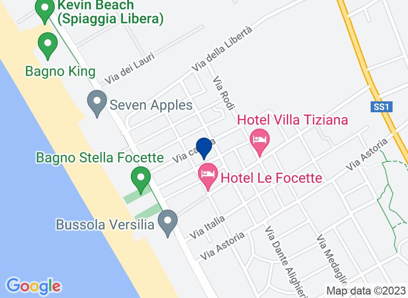 Albergo, PIETRASANTA