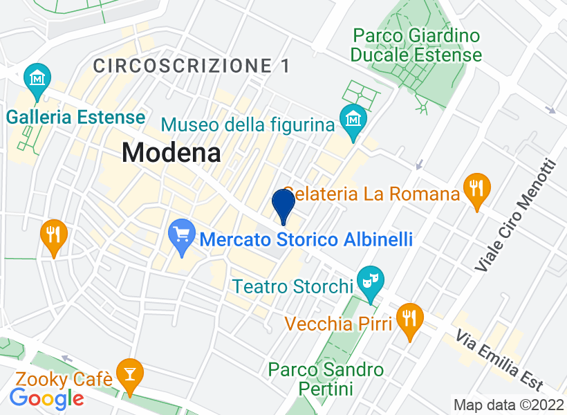 Ufficio al p.1 in Via Emilia Centro n.72, ...