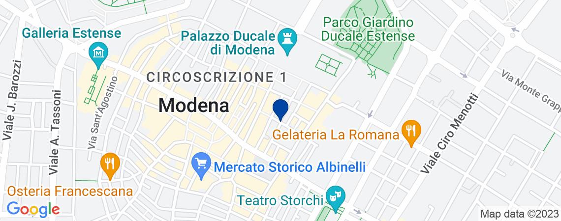 Negozio al p.T a Modena, via Modonella n.6...