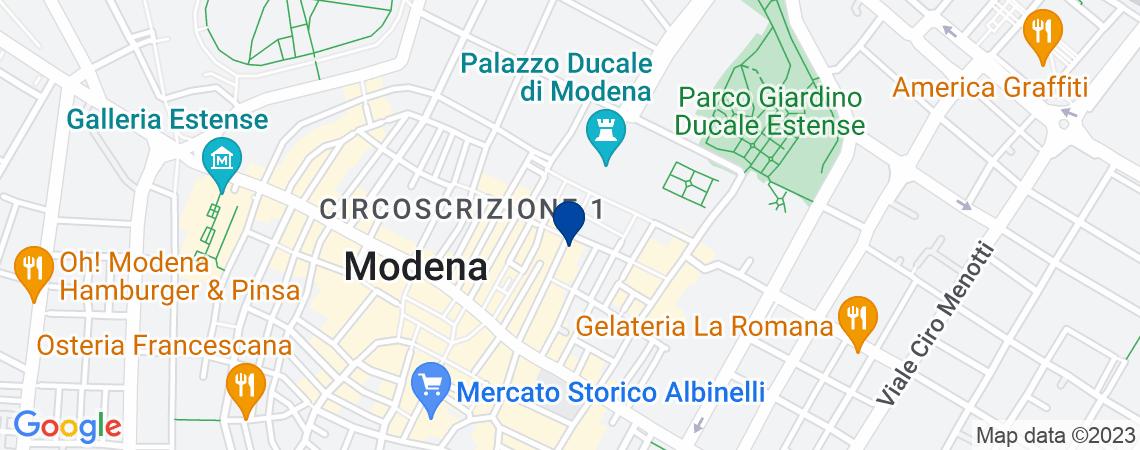 Ufficio al p.1 a Modena, via Luigi Carlo F...