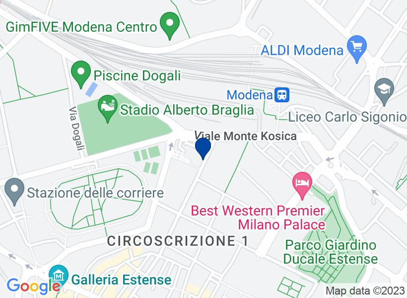 Cantina al al p.S1 a Modena, via Achille F...