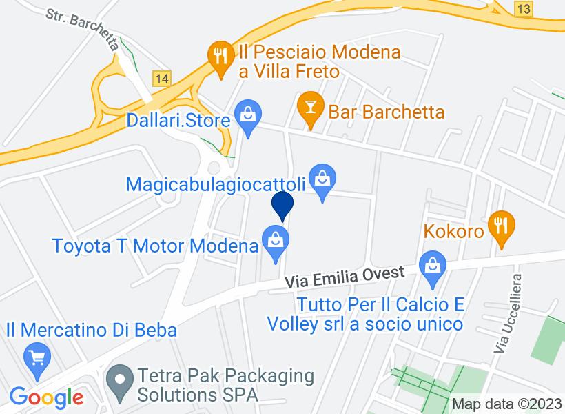 Villetta a Modena, via Vincenzo Monti n.75...