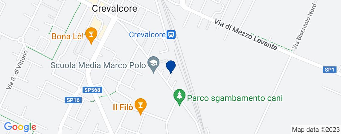Terreno, CREVALCORE