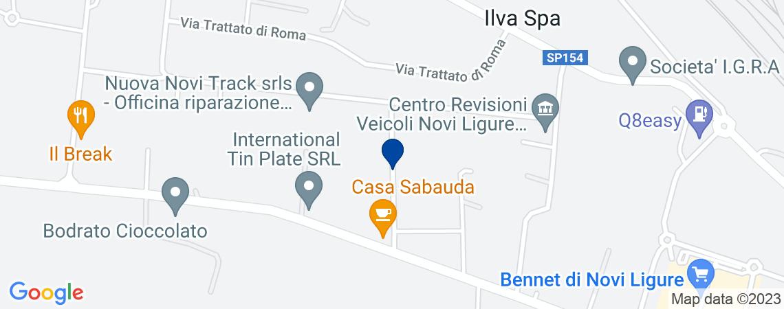 Fabbricato industriale, NOVI LIGURE