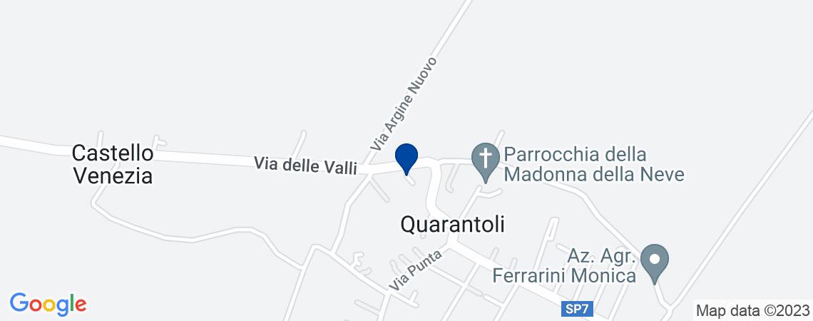 Abitazione al p.T. in via Delle Valli n.10...
