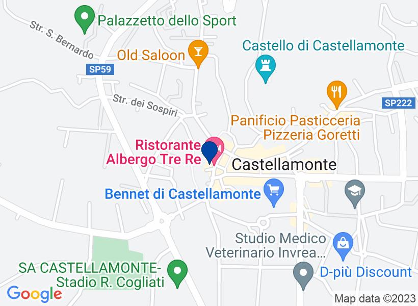 Albergo, CASTELLAMONTE